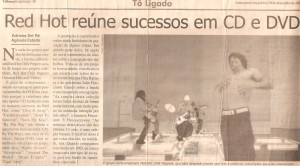 Scan of article on RCHP from Tribuna Araraquara 2003 Brazil