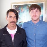 anthony kiedis with TV presenter