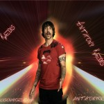 anthony kiedis glowing god on extra-terrestial highway