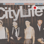 Anthony Kiedis on cover City Life magazine Red Hot Chili Peppers Rockin' On 2011