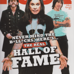 Anthony Kiedis on cover Classic Rock magazine Red Hot Chili Peppers Rockin' On 2011
