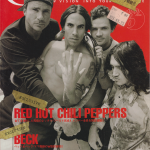Anthony Kiedis on cover Crossbeat magazine Red Hot Chili Peppers Rockin' On 2011