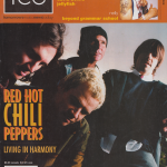 Anthony Kiedis on cover Ice magazine Red Hot Chili Peppers Rockin' On 2011