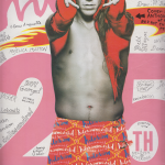 Anthony Kiedis on cover Interview magazine Red Hot Chili Peppers