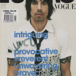 Anthony Kiedis on cover L'Uomo magazine Red Hot Chili Peppers