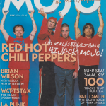 Anthony Kiedis on cover MOJO magazine Red Hot Chili Peppers