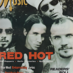 Anthony Kiedis on cover Making Music magazine Red Hot Chili Peppers
