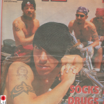 Anthony Kiedis on cover NME magazine Red Hot Chili Peppers