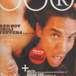 Anthony Kiedis on cover OOR magazine Red Hot Chili Peppers