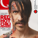Anthony Kiedis on cover Q magazine Red Hot Chili Peppers
