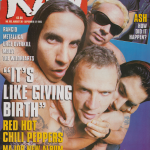 Anthony Kiedis on cover Raw magazine Red Hot Chili Peppers