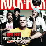 Anthony Kiedis on cover Rock & Folk magazine Red Hot Chili Peppers