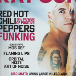 Anthony Kiedis on cover Ray Gun magazine Red Hot Chili Peppers