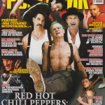 Anthony Kiedis on cover Russian magazine Red Hot Chili Peppers