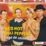 Anthony Kiedis on cover Rock Mag La Nouvelle Scene magazine Red Hot Chili Peppers
