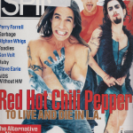 Anthony Kiedis on cover Spin magazine Red Hot Chili Peppers