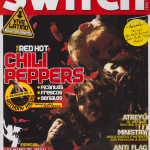 Anthony Kiedis on cover Switch magazine Red Hot Chili Peppers