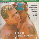 Anthony Kiedis on cover The Face magazine Red Hot Chili Peppers