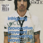 L'Uomo vogue cover Anthony Kiedis RHCP
