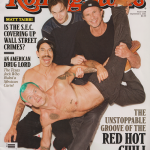 Anthony Kiedis on cover Rolling Stone magazine Red Hot Chili Peppers
