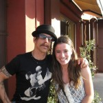 kiedis Los Angeles dinner fan
