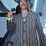 anthony kiedis shopping 2010 stripey jacket card