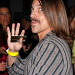 anthony kiedis shopping 2010 stripey jacket yellow wristband