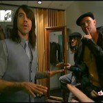 Anthony Kiedis Red Hot Chili Peppers backstage Total Request Live