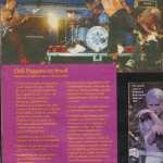 Red Hot Chili Peppers Brazil Capricho magazine concert