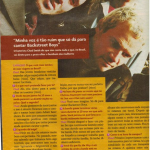 Red Hot Chili Peppers Brazil Capricho magazine interview photo