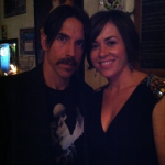 Anthony Kiedis Cafe Stella fundraiser fan