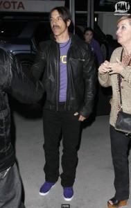 Anthony Kiedis New hair style