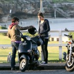 anthony-kiedis-heather-christie-bike-seaside