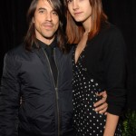 Anthony Kiedis of the Red Hot Chili Peppers and Heather