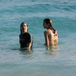 Anthony Kiedis und Heather Christie im Badeurlaub - St. Barthelemy