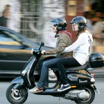 anthony-kiedis-heather-christie-riding-moped-white-top
