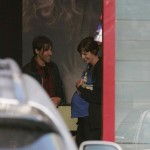 EXCLUSIVE: Anthony Kiedis and pregnant girlfriend Heather Christie at the Malibu Country Mart