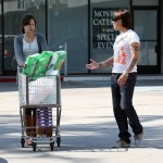 Anthony Kiedis at supermarket