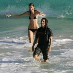 Anthony Kiedis und Heather Christieim Badeurlaub - St. Barthelemy
