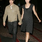Red Hot Chili Peppers Singer Anthony Kiedis at Nobu with mystery girl