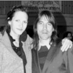 Heather Christie posing with RHCP Anthony Kiedis
