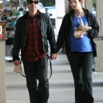 Anthony kiedis heather christie pregnant everly bear son hand in hand