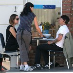Anthony kiedis heather christie pregnant everly bear son waitress coffee shop order