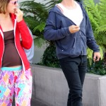 Anthony kiedis heather christie pregnant everly bear son maternity trousers