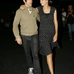 Anthony kiedis heather christie pregnant everly bear son green jacket