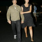 Anthony kiedis heather christie pregnant everly bear son evening stroll