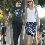 Anthony kiedis heather christie pregnant everly bear son shopping