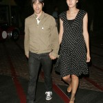Anthony kiedis heather christie pregnant everly bear son evening car park