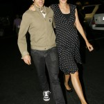 Anthony kiedis heather christie pregnant everly bear son walking