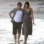 Anthony kiedis heather christie pregnant everly bear son shoreline walk